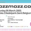 Kozzmozz - Sat 09-03-02, Kuipke Ghent - 0