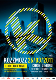 Affiche Kozzmozz : CLR Label Night