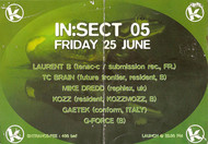 Affiche In:sect