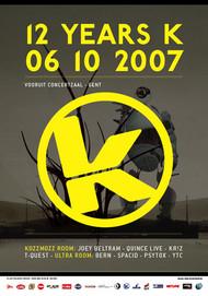 Affiche 12 Years Kozzmozz