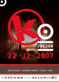 Affiche Kozzmozz meets Tresor
