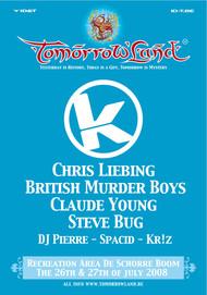 Affiche Kozzmozz @ Tomorrowland