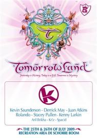 Affiche Kozzmozz @ Tomorrowland 2009