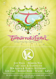 Affiche Kozzmozz @ Tomorrowland 2010