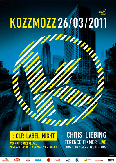 Kozzmozz : CLR Label Night - Sat 26-03-11, Kunstencentrum Vooruit