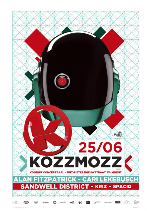 Kozzmozz - Sat 25-06-11, Kunstencentrum Vooruit
