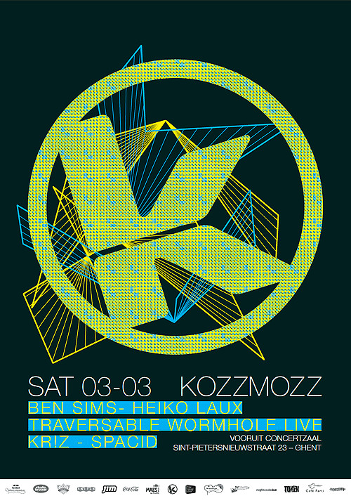 Kozzmozz - Sat 03-03-12, Kunstencentrum Vooruit