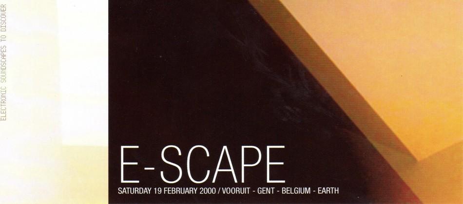 K Soundsystem - Sat 19-02-00, Nightlive Maastricht NL