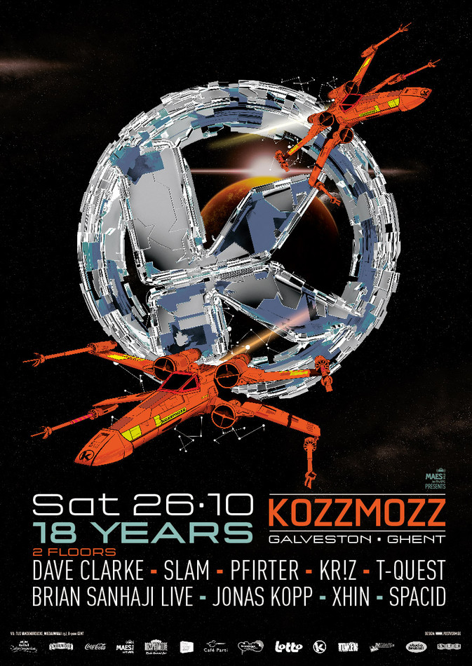 18 Years Kozzmozz - Sat 26-10-13, ArtCube (Galveston Site)