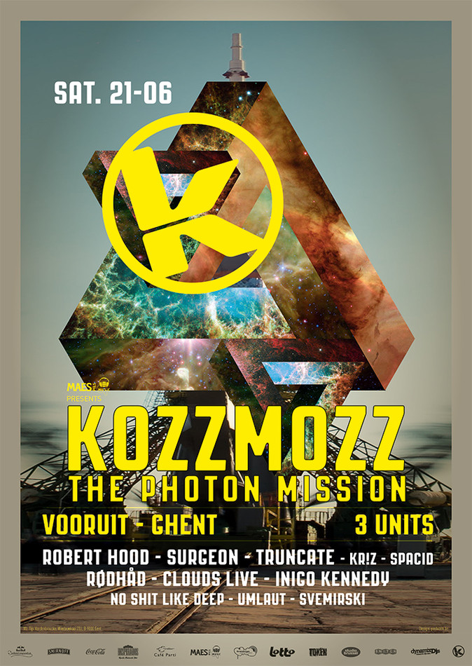Kozzmozz: The Photon Mission - Sat 21-06-14, Kunstencentrum Vooruit