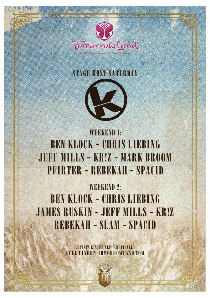 Kozzmozz @ Tomorrowland 2014 - Sat 19-07-14, Tomorrowland
