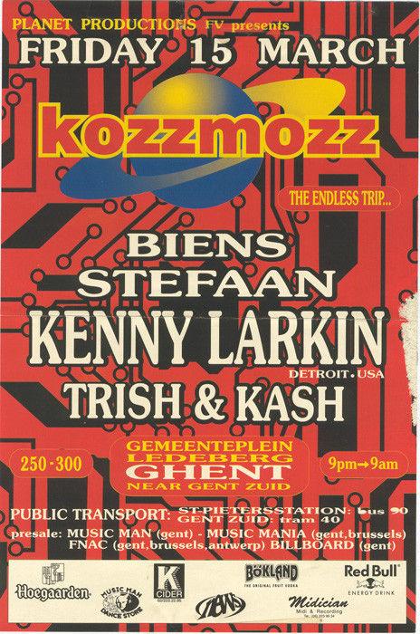 Kozzmozz - Fri 15-03-96, Gemeenteplein Ledeberg Ghent