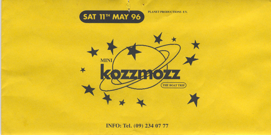 Kozzmozz - Sat 11-05-96, Kunstencentrum Vooruit
