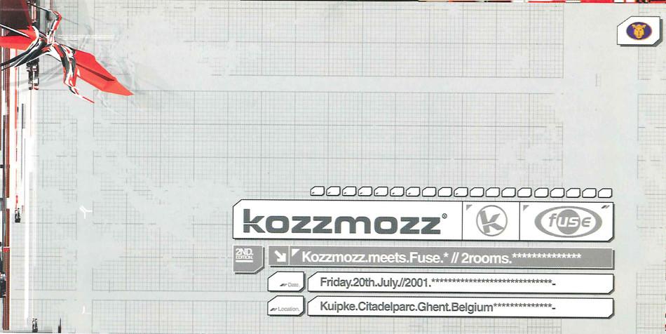 Kozzmozz meets Fuse - Fri 20-07-01, Kuipke Ghent