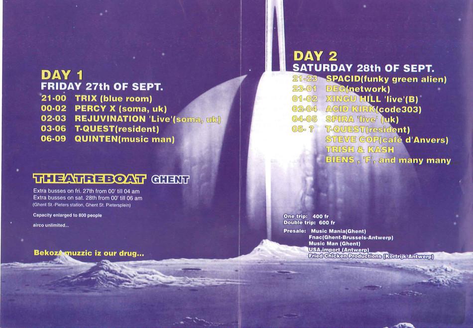Kozzmozz - Fri 27-09-96, Theatreboat Ghent