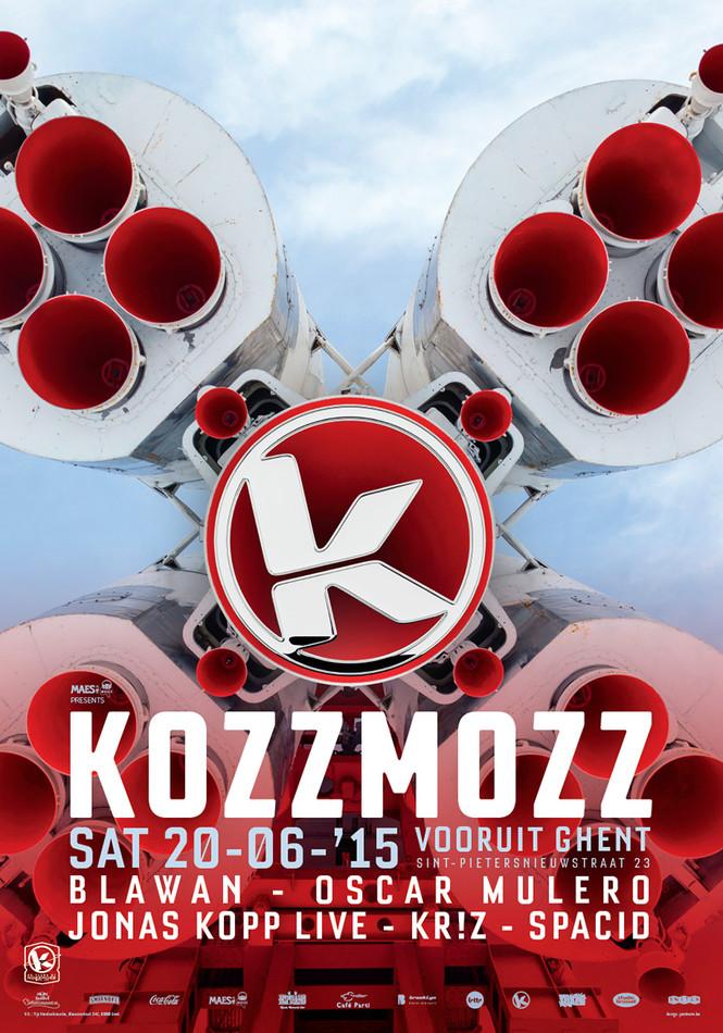 20 Years Kozzmozz: TTC Activation - Sat 20-06-15, Kunstencentrum Vooruit