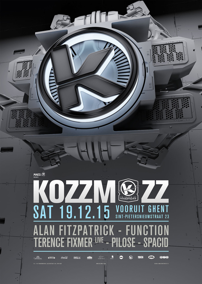 20 Years Kozzmozz: Interstellar Sounds - Sat 19-12-15, Kunstencentrum Vooruit