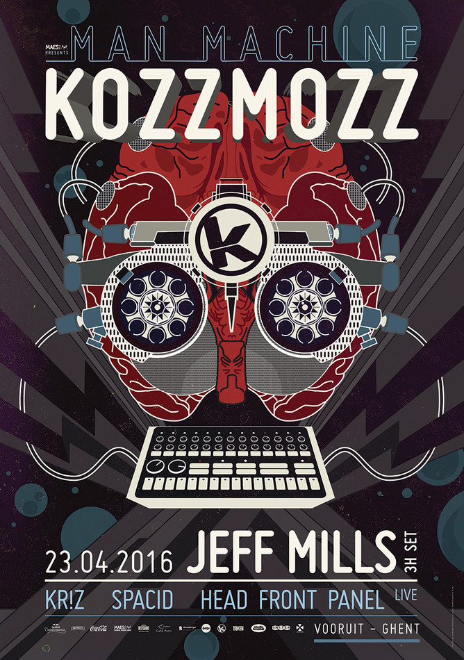 Kozzmozz: Man Machine - Sat 23-04-16, Kunstencentrum Vooruit