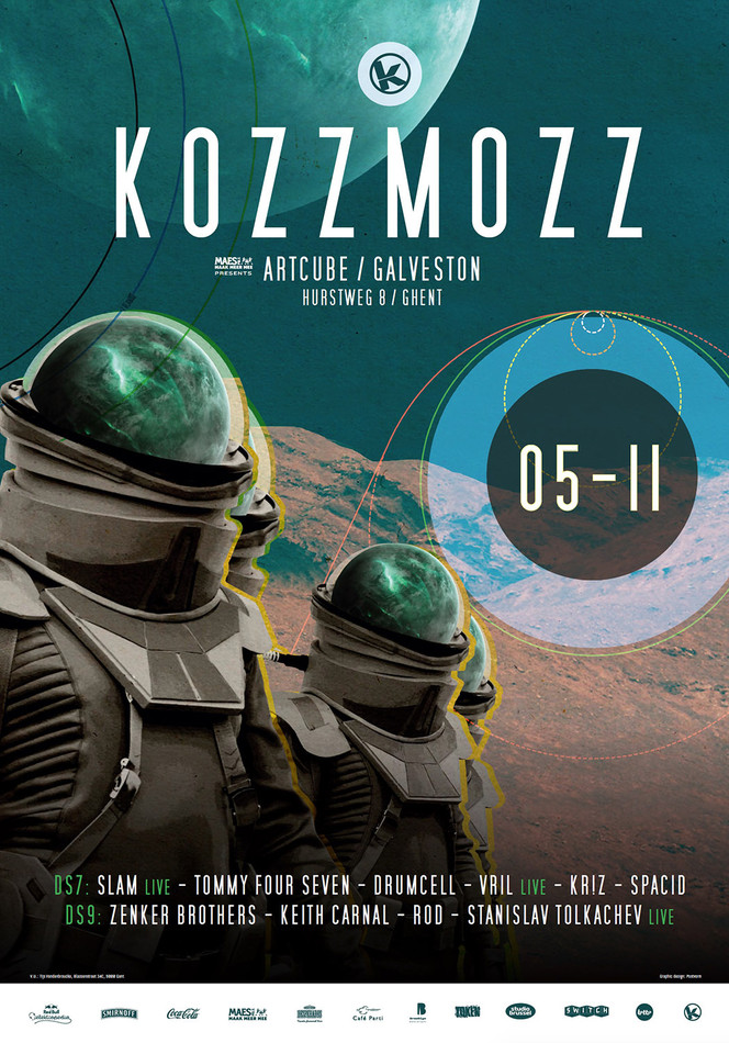 Kozzmozz: The Void - Sat 05-11-16, ArtCube (Galveston Site)