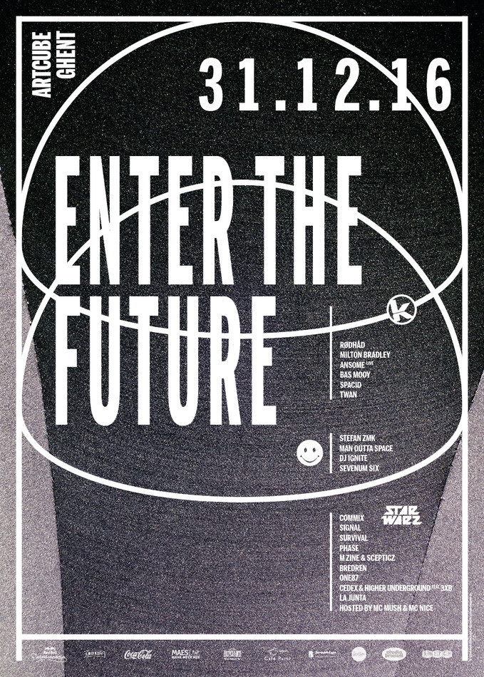 Enter The Future - Sat 31-12-16, ArtCube (Galveston Site)
