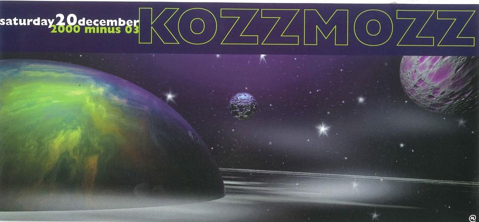 Kozzmozz - Sat 20-12-97, ICC Ghent