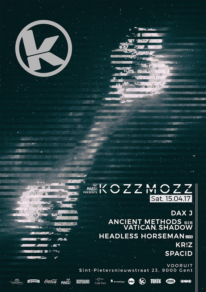 Kozzmozz 15/04/2017 - Sat 15-04-17, Kunstencentrum Vooruit