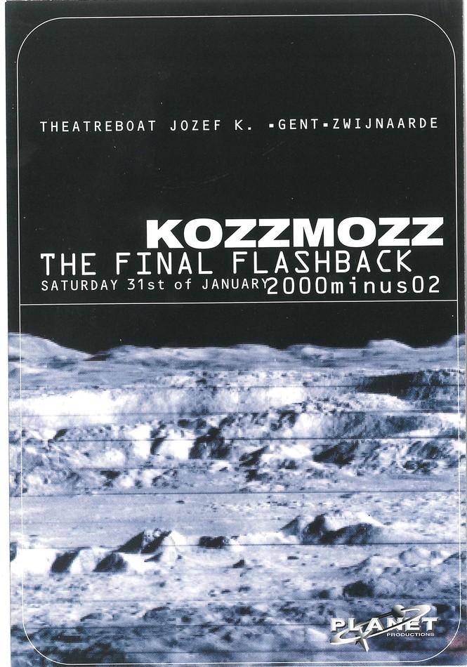 Kozzmozz - Sat 31-01-98, ICC Ghent