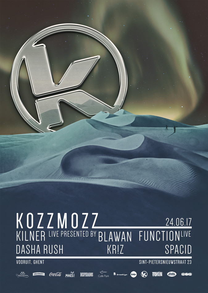 Kozzmozz presents KEPLER 186F - Sat 24-06-17, Kunstencentrum Vooruit