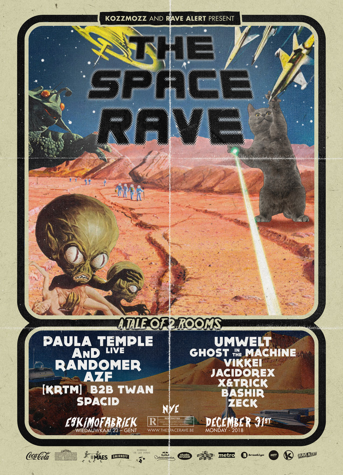 The Space Rave - Mon 31-12-18, Eskimofabriek