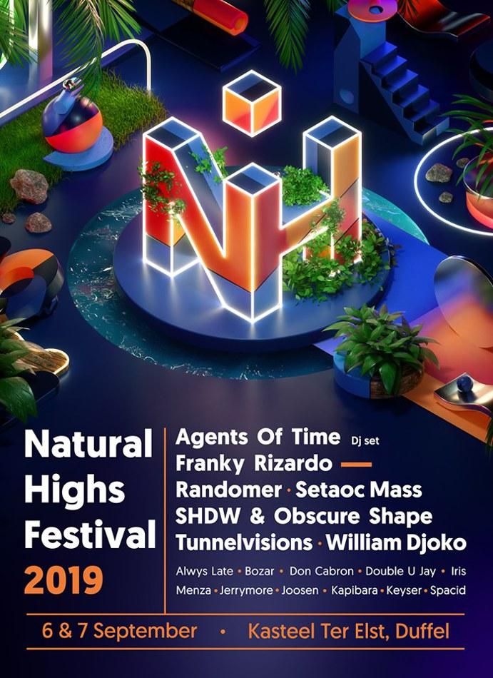 Kozzmozz @ Natural Highs 2019 - Sat 07-09-19, Kasteel Ter Elst, Duffel