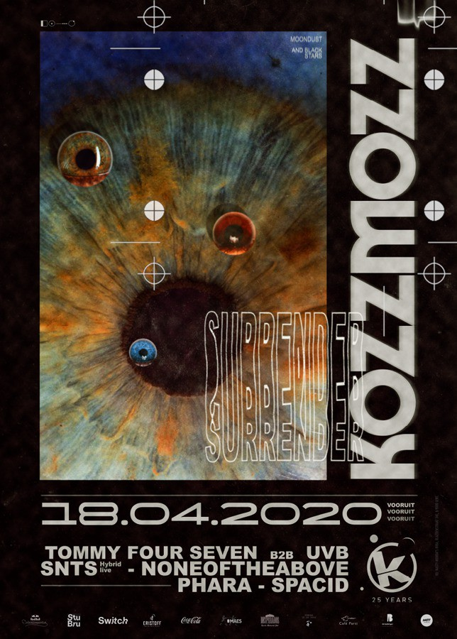 Kozzmozz - Moondust & Black Stars - Sat 18-04-20, Kunstencentrum Vooruit