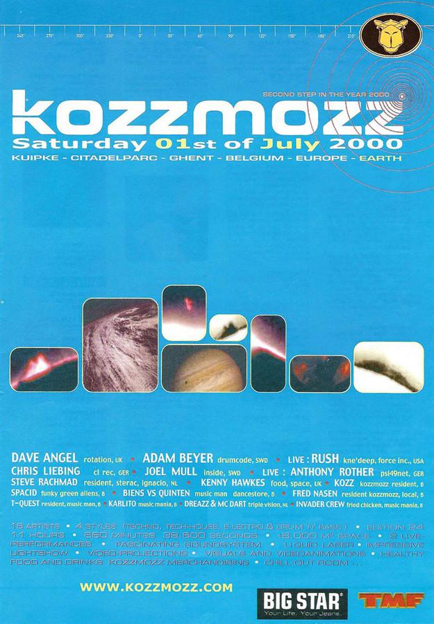 Kozzmozz - Sat 01-07-00, Kuipke Ghent