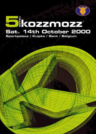 5 Years Kozzmozz - Sat 14-10-00, Kuipke Ghent
