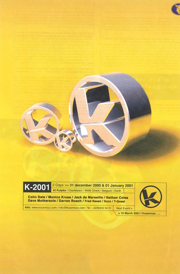 K 2001 - Sun 31-12-00, Kuipke Ghent