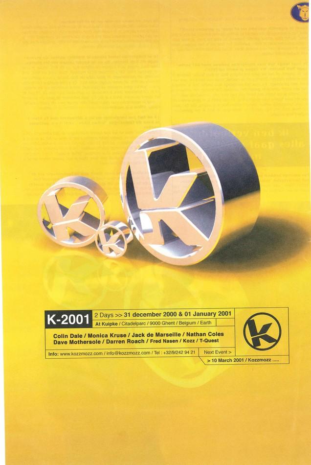 K 2001 - Mon 01-01-01, Kuipke Ghent