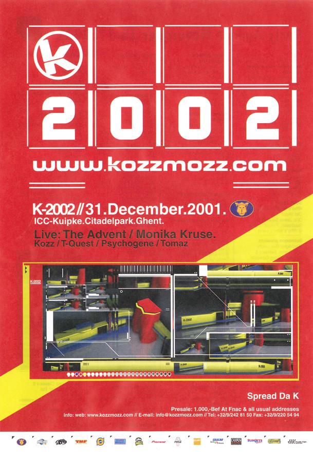 K 2002 - Mon 31-12-01, Kuipke Ghent