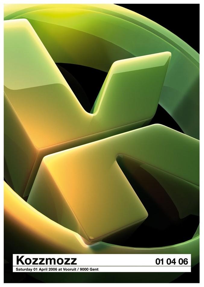 Kozzmozz - Sat 01-04-06, Kunstencentrum Vooruit