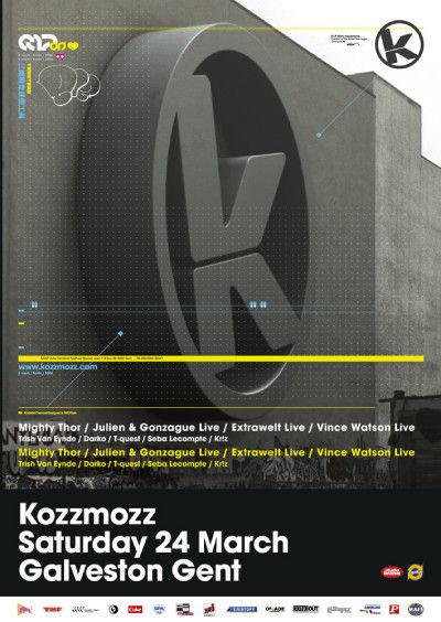 Kozzmozz - Sat 24-03-07, ArtCube (Galveston Site)