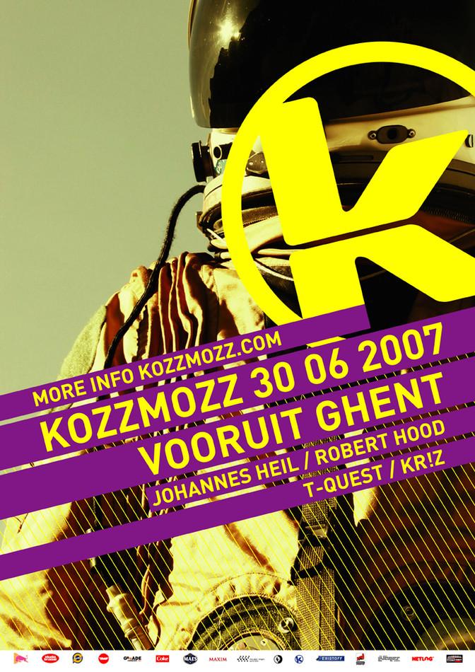 Kozzmozz - Sat 30-06-07, Kunstencentrum Vooruit