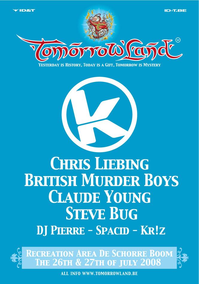 Kozzmozz @ Tomorrowland - Sun 27-07-08, Tomorrowland