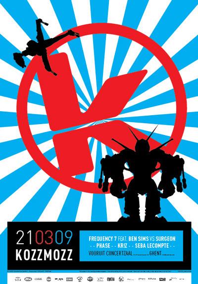 Kozzmozz - Sat 21-03-09, Kunstencentrum Vooruit