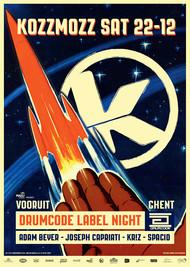 Affiche Drumcode Label Night