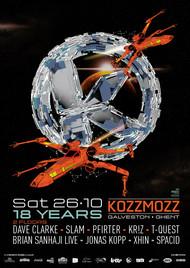 Affiche 18 Years Kozzmozz