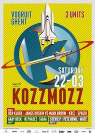 Affiche Kozzmozz: The Astronomical Unit Edition