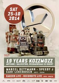 Affiche 19 Years Kozzmozz