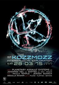 Affiche 20 Years Kozzmozz: Intergalactic Exploration