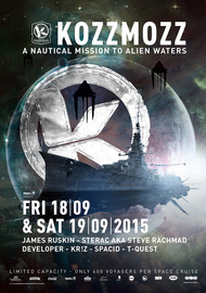 Affiche 20 Years Kozzmozz: A Nautical Mission to Alien Waters