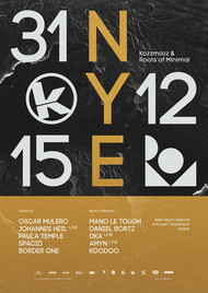 Affiche Kozzmozz & Roots of Minimal - New Year's Special