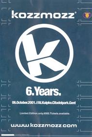 Affiche 6 Years Kozzmozz